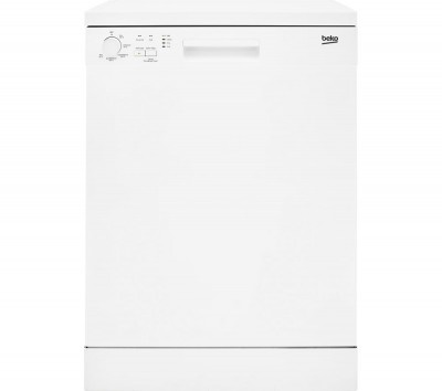 Save £40 at Currys on BEKO DFN05310W Full-size Dishwasher - White, White