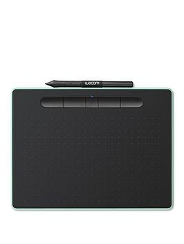 Save £35 at Very on Wacom Intuos Pen Tablet In Pistachio (Medium). Included Wacom Intuos Stylus. Bluetooth Connectivity. Compatible With Windows And Apple