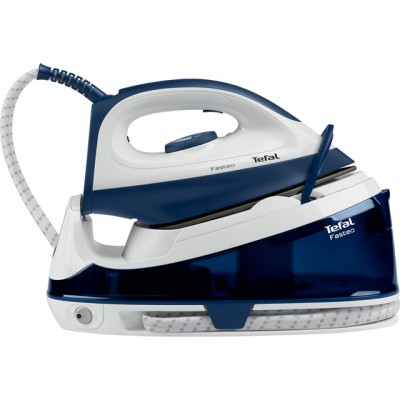 Save £18 at AO on Tefal Fasteo SV6040 Pressurised Steam Generator Iron - Blue