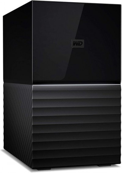 Save £44 at Ebuyer on WD My Book Duo WDBFBE0060JBK - Hard drive array - 6 TB - 2 bays - HDD 3 TB x 2 - USB 3.1 (external)