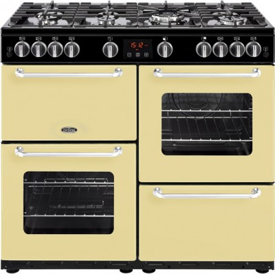 Save £300 at AO on Belling SANDRINGHAM100G 100cm Gas Range Cooker - Cream - A/A Rated