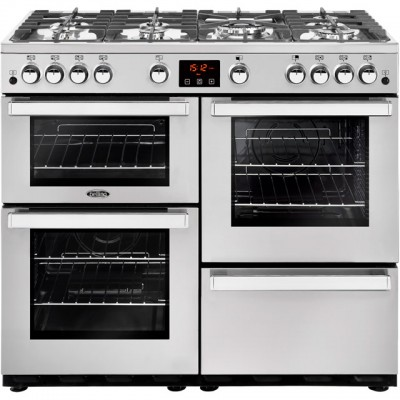 Save £207 at AO on Belling Cookcentre100GProf 100cm Gas Range Cooker - Stainless Steel - A/A Rated