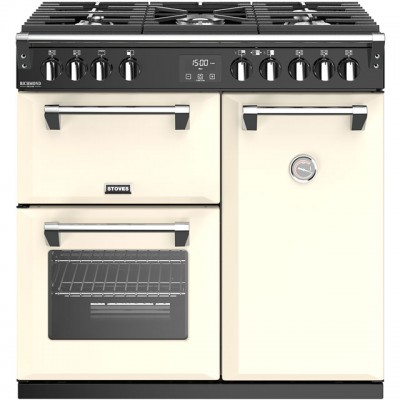 Save £300 at AO on Stoves Richmond Deluxe S900G 90cm Gas Range Cooker - Cream - A/A Rated