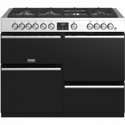 Save £500 at AO on Stoves Precision DX S1100G 110cm Gas Range Cooker with Electric Grill - Stainless Steel - A/A/A Rated
