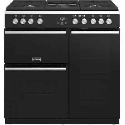 Save £200 at AO on Stoves Precision DX S900G 90cm Gas Range Cooker - Black - A/A Rated