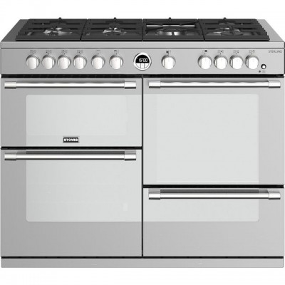 Save £400 at AO on Stoves Sterling S1100G 110cm Gas Range Cooker with Electric Grill - Stainless Steel - A/A/A Rated