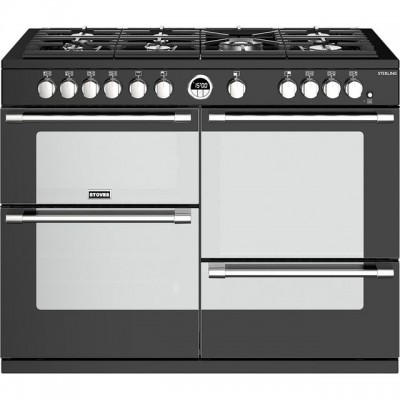 Save £400 at AO on Stoves Sterling S1100G 110cm Gas Range Cooker with Electric Grill - Black - A/A/A Rated