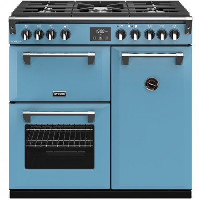 Save £270 at AO on Stoves Colour Boutique Collection Richmond Deluxe S900G CB 90cm Gas Range Cooker - Days Break - A/A/A Rated
