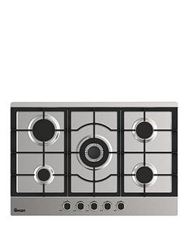 Save £21 at Very on Swan Sxb75275Ss 75Cm Wide Gas Hob With Wok Burner - Stainless Steel