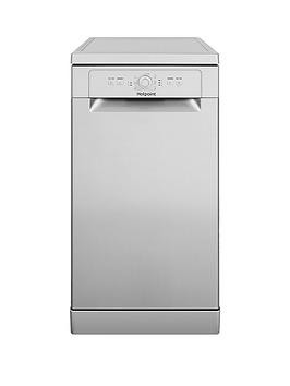 Save £30 at Very on Hotpoint Hsfe1B19S 10-Place Slimline Dishwasher With Quick Wash - Silver