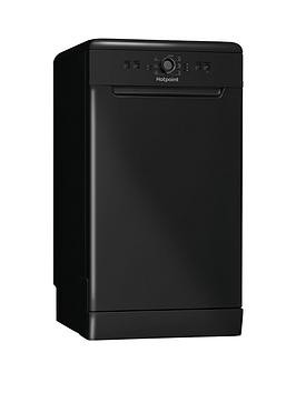 Save £30 at Very on Hotpoint Hsfe1B19B 10-Place Slimline Dishwasher With Quick Wash - Black