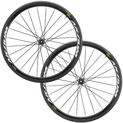Save £65 at Wiggle on Mavic Aksium Elite CL DB Road Wheelset (WTS) Wheel Sets