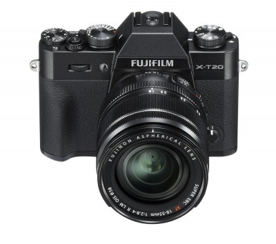Save £100 at Currys on FUJIFILM X-T20 Compact System Camera with 18-55 mm f/2.8-f/4 Standard Zoom Lens - Black, Black