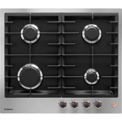 Save £90 at AO on De Dietrich DPE7620XF 60cm Gas Hob - Stainless Steel / Black
