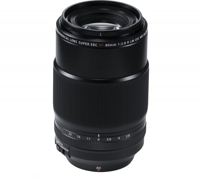 Save £120 at Currys on FUJIFILM FUJINON XF 80 mm f/2.8 R LM OIS WR Macro Lens