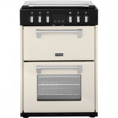 Save £100 at AO on Stoves Richmond600E 60cm Electric Cooker with Ceramic Hob - Cream - A/A Rated