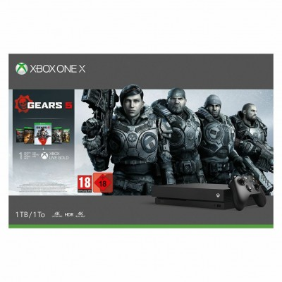 Save £90 at Argos on Xbox One X 1TB Console & Gears 5 Bundle