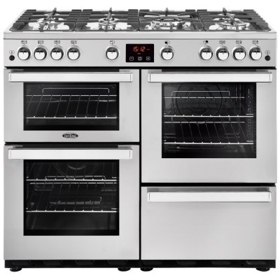 Save £198 at Appliance City on Belling COOKCENTRE 100GPROFSTA 4087 100cm Gas Range Cooker - STAINLESS STEEL