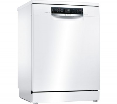 Save £80 at Currys on BOSCH BOSCH Serie 6 SMS67MW01G Full-size Dishwasher - White, White