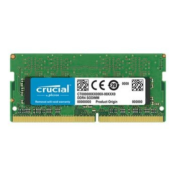 Save £61 at Scan on Crucial 16GB DDR4 SODIMM 2666MHz ECC Laptop/SFF RAM/Memory Module