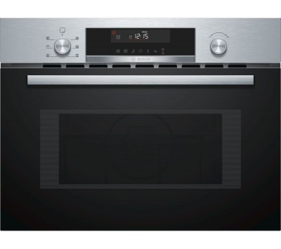 Save £70 at Currys on BOSCH Serie 6 CMA585MS0B Built-in Combination Microwave - Stainless Steel, Stainless Steel