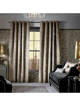 Save £15 at Very on Kylie Minogue Grazia Lined Eyelet Curtains