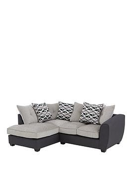 Save £55 at Very on Juno Fabric Compact Scatter Back Left Hand Seater Corner Chaise Sofa