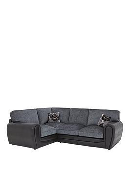 Save £63 at Very on Monico Left Hand Standard Back Double Arm Corner Group Sofa