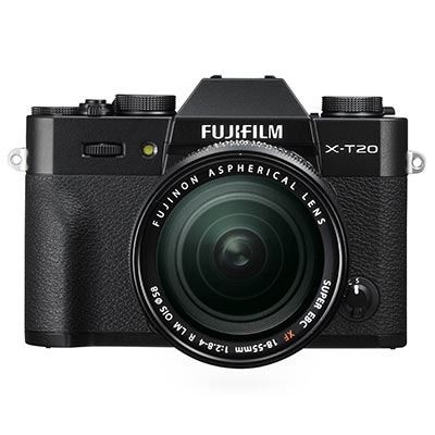 Save £100 at WEX Photo Video on Fujifilm X-T20 with XF 18-55mm Lens – Black
