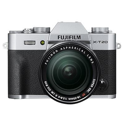 Save £100 at WEX Photo Video on Fujifilm X-T20 with XF 18-55mm Lens – Silver