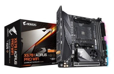 Save £27 at Ebuyer on Gigabyte X570 I AORUS PRO WIFI AM4 DDR4 mITX Motherboard