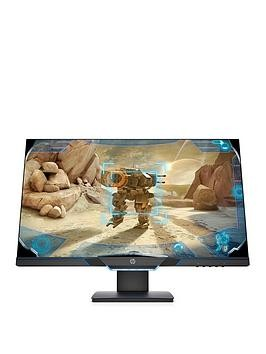 Save £60 at Very on Hp 27In Fhd, 145Hz, 1Ms, Freesync, G-Sync Compatible, Height Adjust Gaming Monitor - Black/Neon Blue