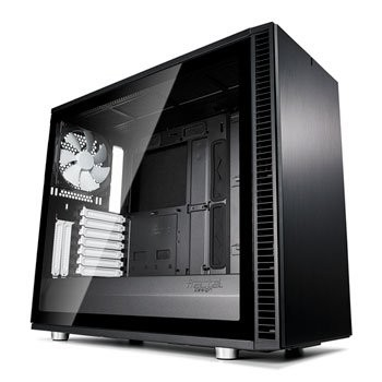Save £21 at Scan on Fractal Define S2 Black Tempered Glass Midi PC Gaming Case
