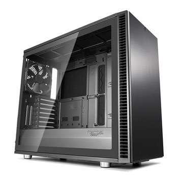 Save £21 at Scan on Fractal Define S2 Grey Tempered Glass Midi PC Gaming Case