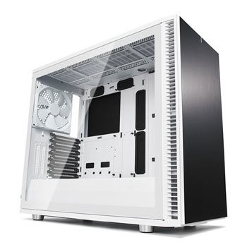 Save £21 at Scan on Fractal Define S2 White Tempered Glass Midi PC Gaming Case