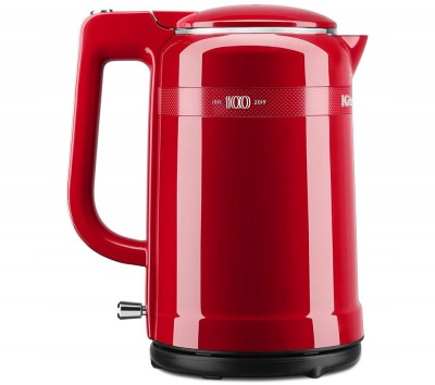 Save £12 at Currys on KITCHENAID 100 Year Queen of Hearts Collection 5KEK1565HBSD Jug Kettle - Red, Red