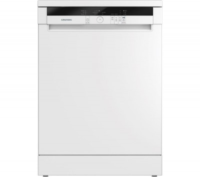 Save £40 at Currys on GRUNDIG GNF11510W Full-size Dishwasher - White, White