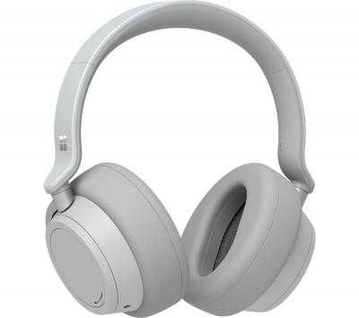 Save £105 at Currys on MICROSOFT Surface Wireless Bluetooth Noise-Cancelling Headphones - Platinum