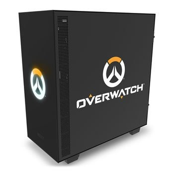 Save £30 at Scan on NZXT H500 Overwatch Tempered Glass Windowed PC Gaming Case Limited Edi