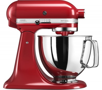 Save £220 at Currys on KITCHENAID Artisan 5KSM125BER Stand Mixer - Empire Red, Red