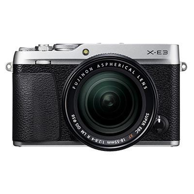 Save £130 at WEX Photo Video on Used Fujifilm X-E3 Digital Camera with 18-55mm Lens - Silver