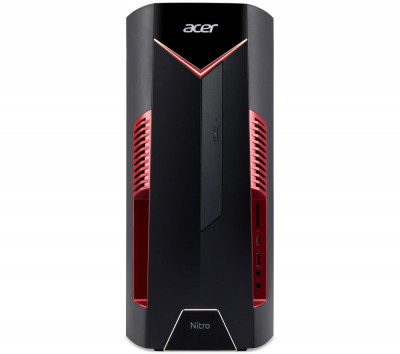 Save £150 at Currys on ACER Nitro N50-600 Gaming PC - Intel® Core™ i7, GTX 1660 Ti, 1 TB HDD & 256 GB SSD, Red