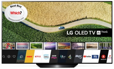 Save £200 at Argos on LG 55 Inch OLED55B9PLA Smart 4K HDR OLED TV