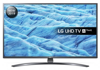 Save £50 at Argos on LG 43 Inch 43UM7400PLB Smart 4K HDR LED TV