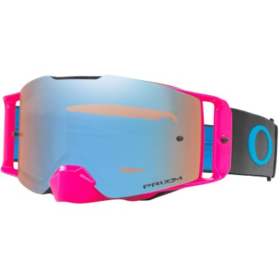 Save £26 at Wiggle on Oakley FRONT LINE MX Prizm MX Sapphire Iridium Goggles Cycling Goggles