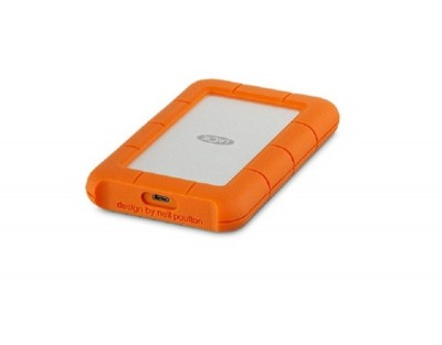 Save £13 at Ebuyer on Lacie STFR1000800 1TB Rugged USB-C Portable Hard Drive
