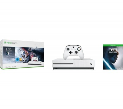 Save £40 at Currys on Xbox One S with Star Wars Jedi: Fallen Order Deluxe Edition Bundle - 1 TB