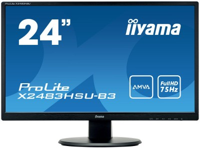 Save £17 at Ebuyer on Iiyama ProLite X2483HSU-B3 24 Full HD Monitor