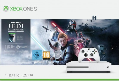 Save £40 at Argos on Xbox One S 1TB Console & Star Wars Jedi: Fallen Order Bundle