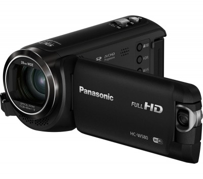 Save £30 at Currys on PANASONIC HC-W580EB-K Traditional Camcorder - Black, Black